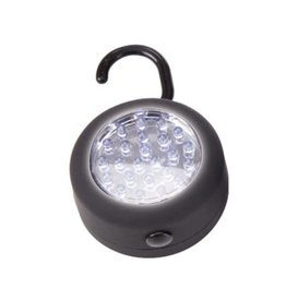FLASHLIGHT LAMP WITH HOOK AND MAGNET (PUCK) LED-24