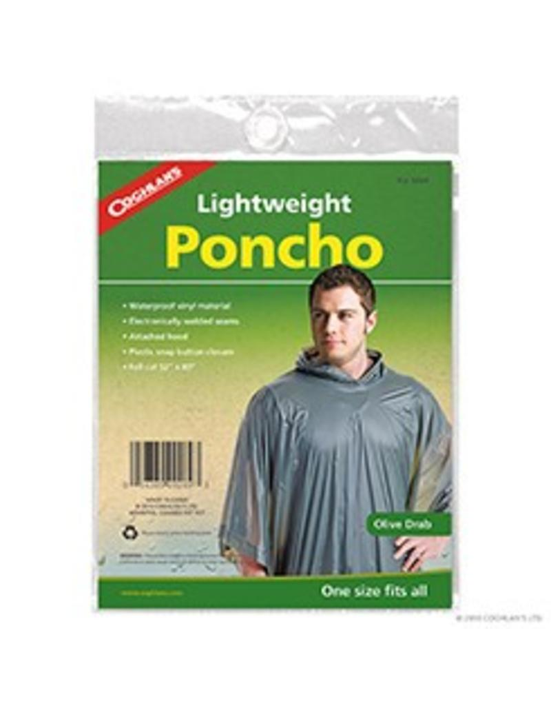 "COGHLAN'S  PONCHO OLIVE (52"" x 80"") 9269"