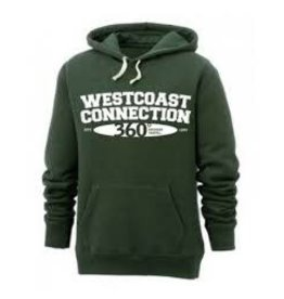 WESTCOAST 'RETRO'  HOODED SWEATSHIRT