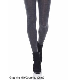 MONDOR MONDOR WOMEN'S MERINO WOOL RIBBED TIGHTS 5309