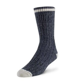 DURAY DURAY MEN'S SOCK BLUE SIZE LARGE 3 PACK 198-C