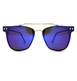 SPITFIRE FLT2 CLEAR/BLUE MIRROR SUNGLASSES