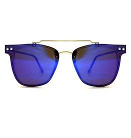 SPITFIRE FLT2 CLEAR/BLUE MIRROR SUNGLASSES