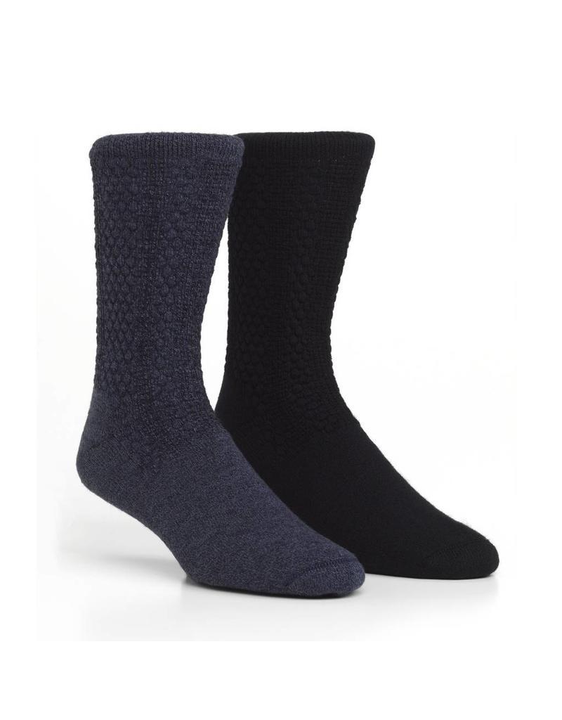 HAPPY FOOT UNISEX 2 PACK SOCK MHD230