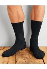 GILDAN Gildan Men's Sport Socks 6Pk GP751-6MBK-02 Black