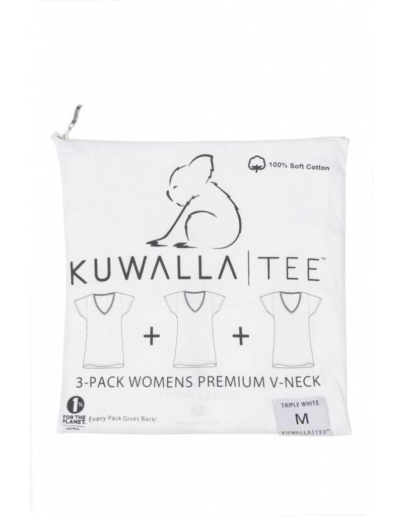 KUWALLA KUWALLA FEMMES 3 PR T-SHIRT KUL-WVW018