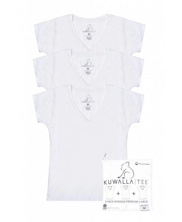 KUWALLA WOMEN'S 3 PACK T-SHIRT KUL-WVW018