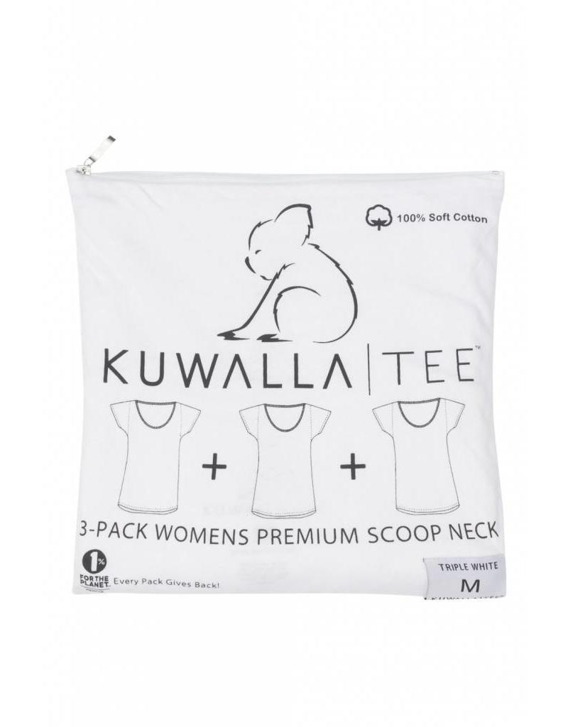 KUWALLA KUWALLA FEMMES 3 PR T-SHIRT KUL-WCW018
