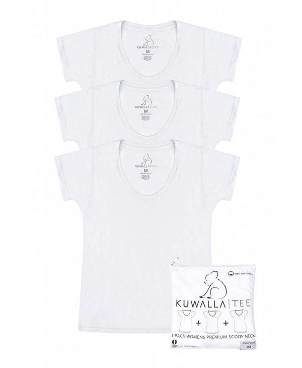 KUWALLA WOMEN'S 3 PACK T-SHIRT KUL-WCW018