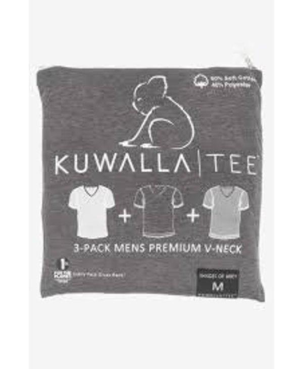 Kuwalla Men's 3 PACK T-SHIRT KUL-SGV16