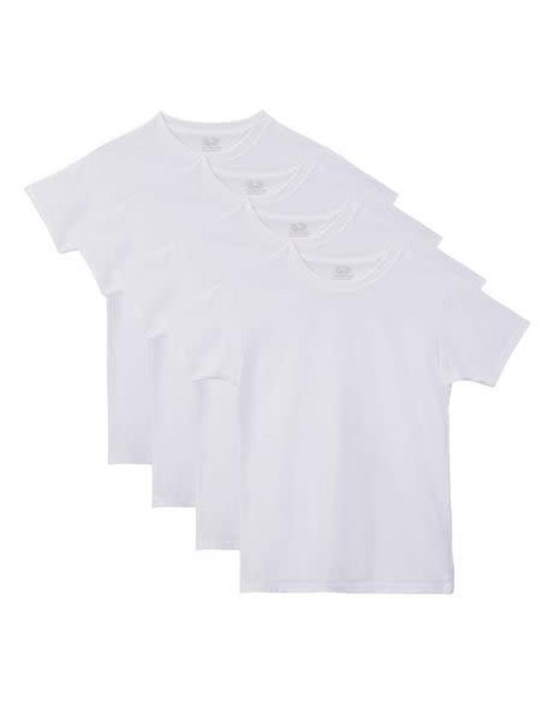 FRUIT OF THE LOOM FRUIT OF THE LOOM MEN'S 4 PACK CREW T-SHIRT 4P28CZQ
