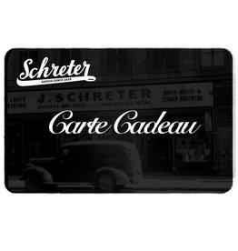 SCHRETER CARTES-CADEAUX
