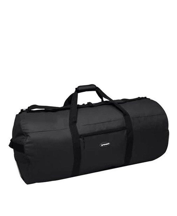 Lugger Black Duffle Bag 45'' X 22'' 1528