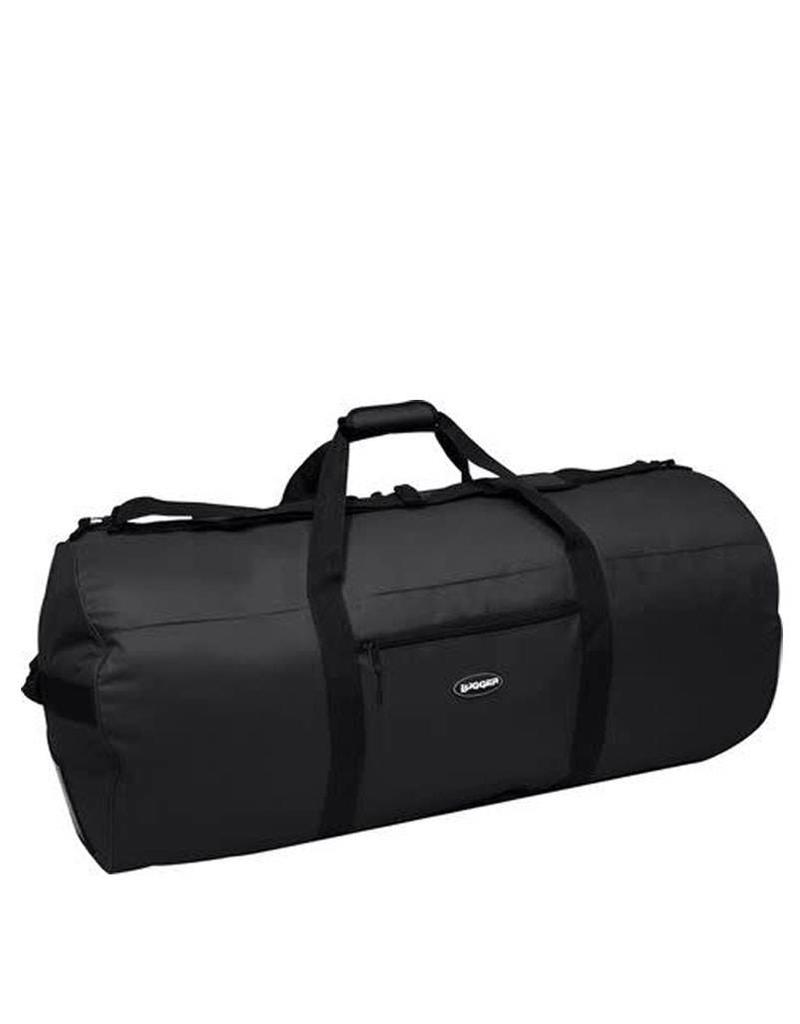Lugger Black Duffle Bag 45'' X 22'' 1528