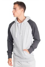 SCHRETER MEN'S TWO TONE FRENCH TERRY HOODIE MRT888