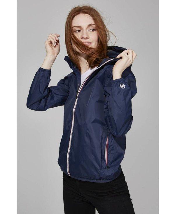 08 Lifestyle Womens Sloane Full Zip Packable Jacket