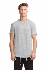 KUWALLA Kuwalla Hommes Marled Hi-Lo T-Shirt KUL-HL7404