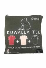 KUWALLA KUWALLA HOMMES 3 PAIRE T-SHIRTS KUL-RC080