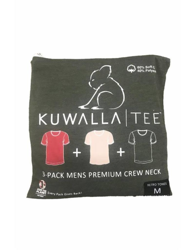 KUWALLA KUWALLA MEN'S 3 PACK T-SHIRTS KUL-RC080