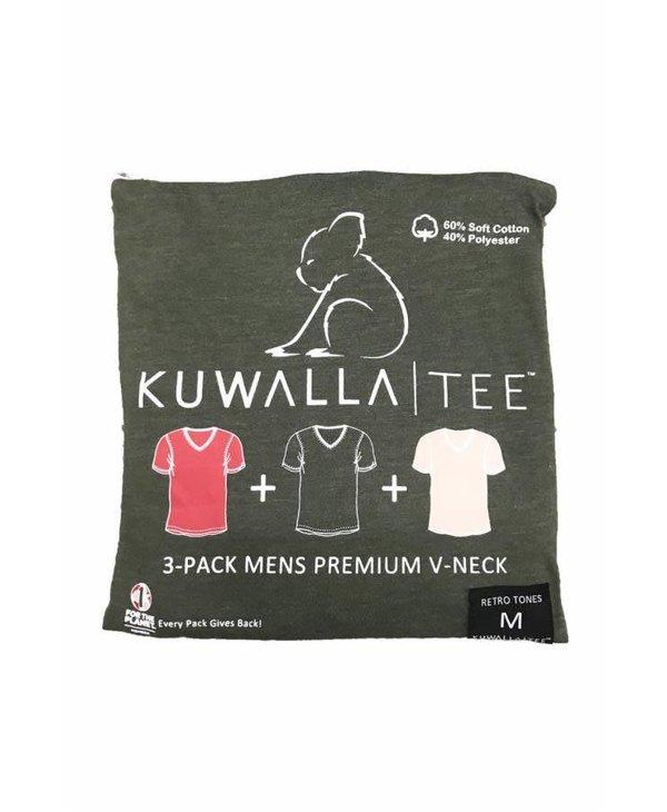 Kuwalla Men's 3 PACK T-SHIRTS KUL-RV080
