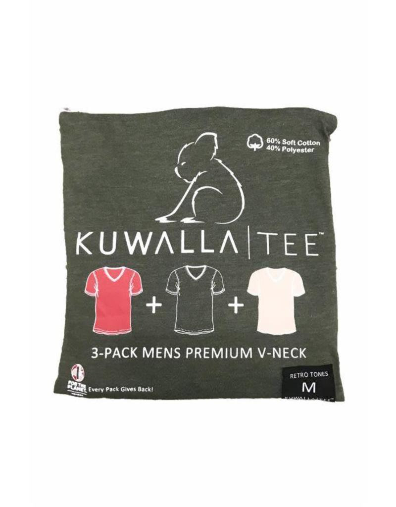 KUWALLA Kuwalla Men's 3 PACK T-SHIRTS KUL-RV080