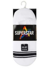 SUPERSTAR WOMEN'S SPORT NO SHOW STRIPE MME608