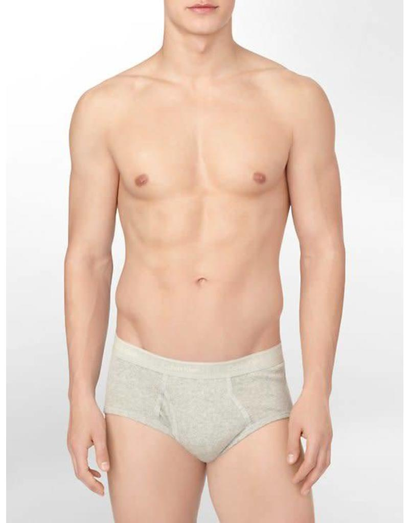 CALVIN KLEIN CALVIN KLEIN MEN'S 4 PACK COTTON CLASSIC BRIEF U4000G