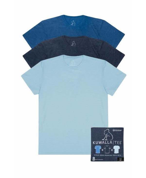 Kuwalla Men's Crew Neck 3 Pack T-Shirt KUL-SBC018