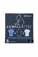 KUWALLA Kuwalla Hommes Crew Neck 3 PaireT-Shirt KUL-SBC018