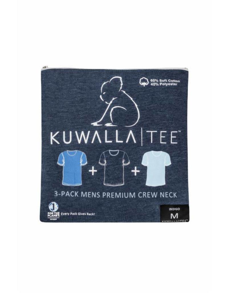 KUWALLA Kuwalla Men's Crew Neck 3 Pack T-Shirt KUL-SBC018