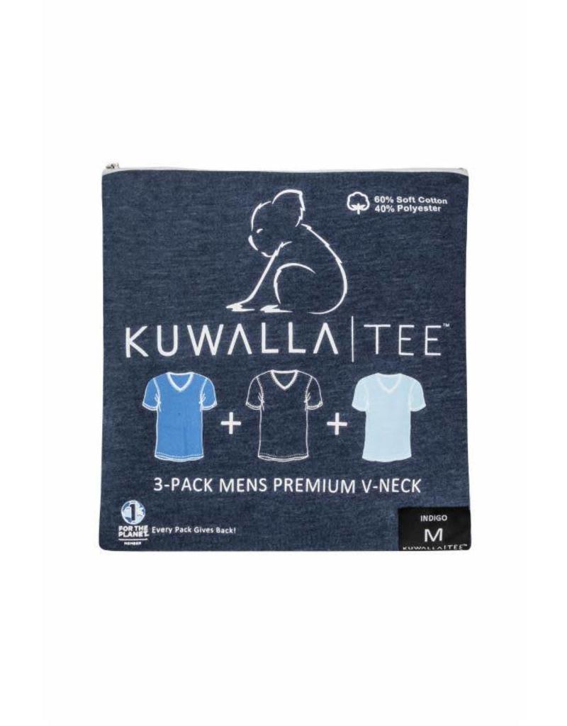 KUWALLA Kuwalla Men's V-Neck 3 Pack T-Shirt KUL-SBV18