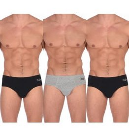 MEMPHIS BLUES LOW RISE BRIEFS 3 PACK MB3900