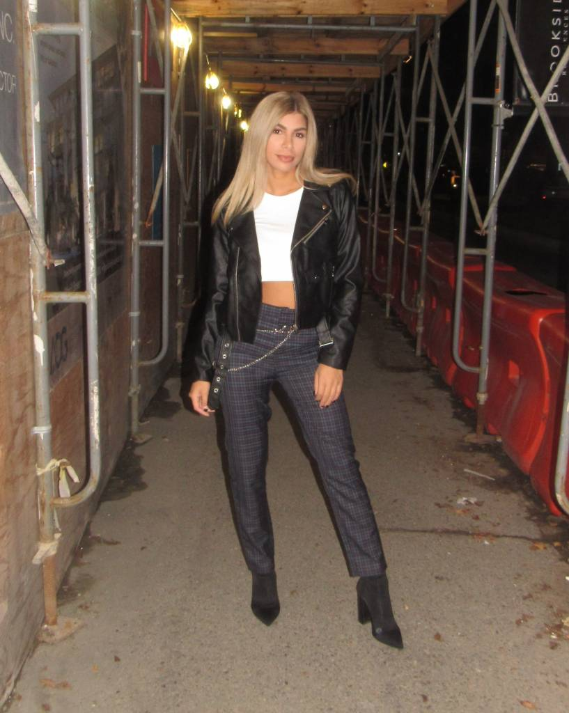 LEXI DREW Moto Leather Jacket