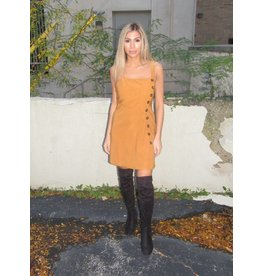 LEXI DREW Button Dress