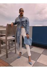 LEXI DREW 1905 White Leather Pants