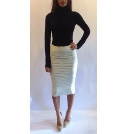 Sugar Lips Textured Skirt