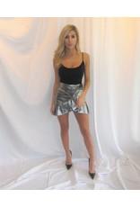 LEXI DREW Metallic Skirt