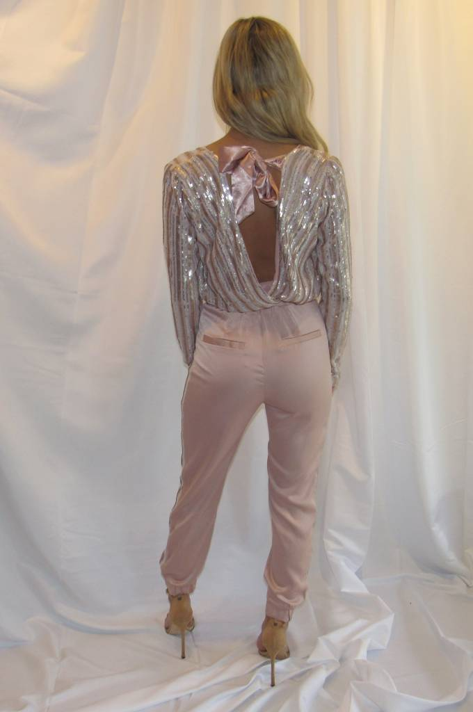 LEXI DREW Side Sequin Jogger