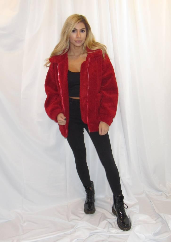 LEXI DREW Teddy Coat