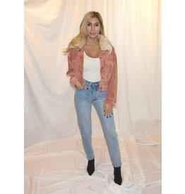LEXI DREW Cord Fur Jacket