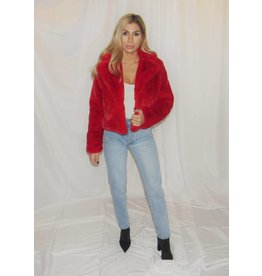 LEXI DREW Faux Fur Jacket