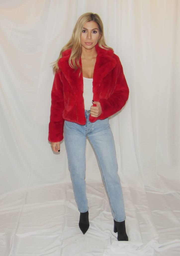 LEXI DREW Faux Fur Jacket