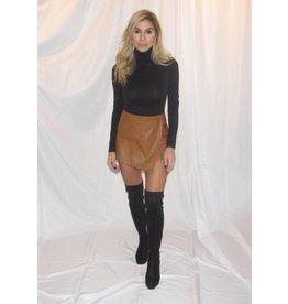 LEXI DREW Leather Shorts