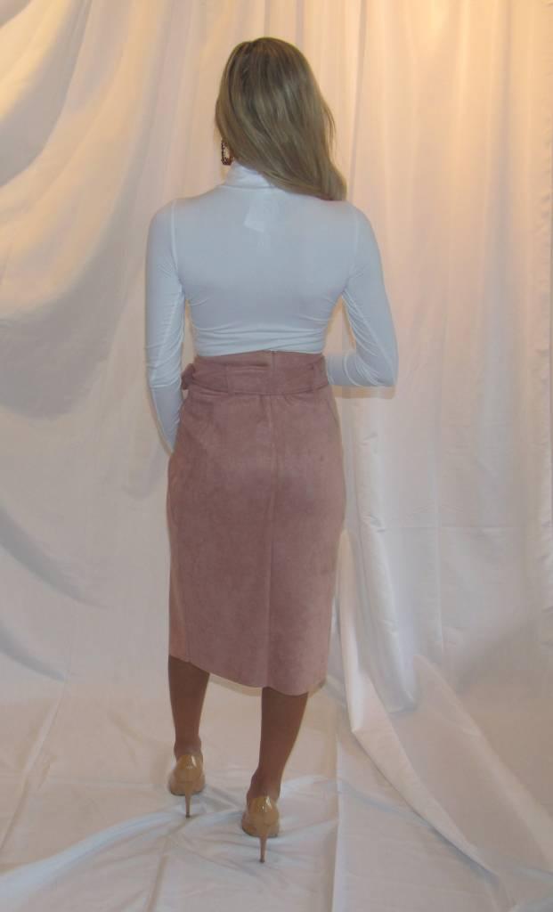 LEXI DREW Belt Midi Skirt