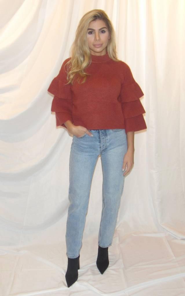 LEXI DREW Tier Sweater