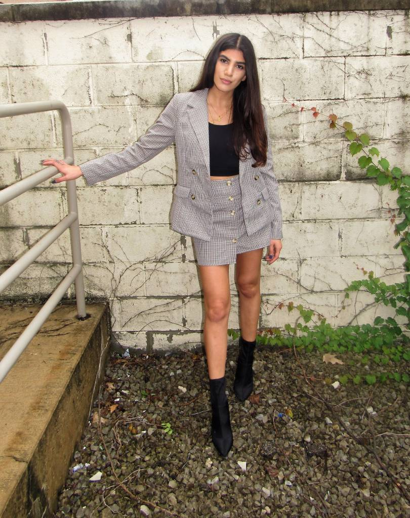 LEXI DREW Plaid Skirt