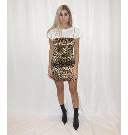 LEXI DREW Cheetah Dress