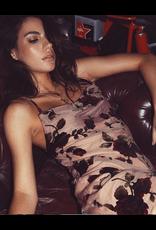 LEXI DREW Rose Velvet Dress