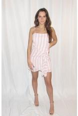 LEXI DREW Striped Tie Dress