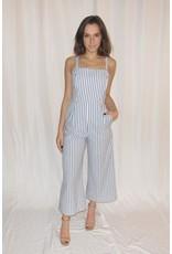 LEXI DREW Tie Stripe Jumpsuit